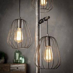 Industriele 3-lichts Vloerlamp