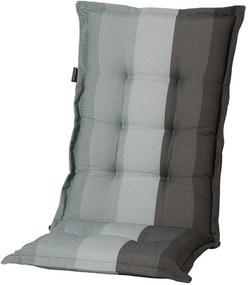 Tuinkussen hoog Pete 123x50 cm - grijs