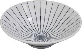 Tokyo Design Studio | Schaal Tokusa large: diameter 24 cm x hoogte 8 cm, 1300 ml wit kommen & schalen porselein koken & | NADUVI outlet