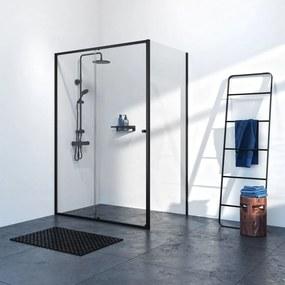 Get Wet Contour douchecabine 120x90cm met schuifdeur mat zwart