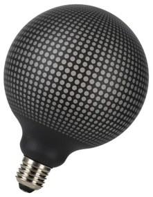 Bailey Designs Orient Dots Globe G125 E27 4W 2700K Zwart 100lm Dimbaar 230V-240V 360D 125x170 LED lamp 143096