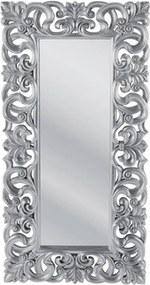 Kare Design Italian Baroque Zilveren Spiegel Barokstijl - 90x180cm