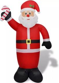Opblaasbare kerstman 240 cm