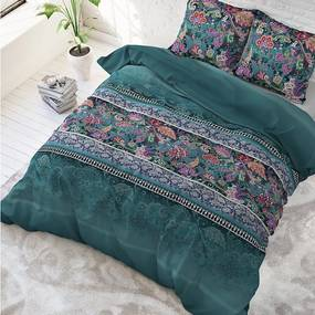 Sleeptime Elegance Paisley - Groen 1-persoons (140 x 220 cm + 1 kussensloop) Dekbedovertrek