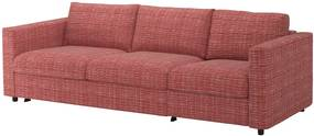IKEA VIMLE Hoes 3-zits slaapbank Dalstorp veelkleurig - lKEA