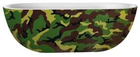 Vrijstaand Bad Best Design Camouflage 180x86x60 cm Acryl Leger Groen