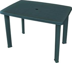 Tuintafel 101x68x72 cm kunststof groen