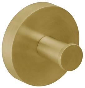 Handdoekhaak Herzbach Design IX PVD-Coating 50 mm Messing Goud