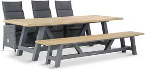 Garden Collections Madera/Trente 260 cm dining tuinset 5-delig