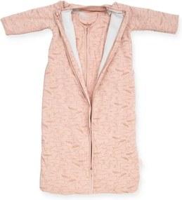 Baby Slaapzak 4 Seizoenen 70cm - Whales - Pale Pink - Beddengoed