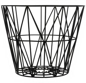 Ferm Living Wire Basket opbergmand zwart large