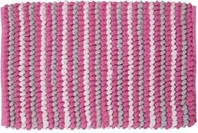 Sealskin Bright Badmat 50x80cm Polyester Roze
