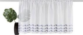 Vitragegordijn, »Wave«, my home, roedezoom per stuk