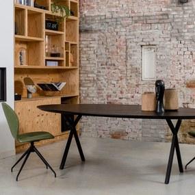 Eiken Eettafel houten eettafel Lachaud - Ovaal
