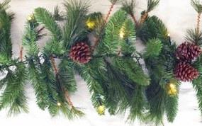 Northern Spruce guirlande 270 x 30 cm met warm LED
