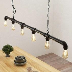 Balk hanglamp Josip in industriële stijl - lampen-24
