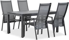 Lifestyle Lancaster/Concept 180 cm dining tuinset 5-delig