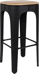 Barkruk Up-High - Zwart