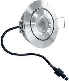 Granada LED inbouwspot 3 Watt kantelbaar