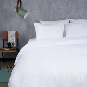 Presence Fairtrade Katoen Satijn - Wit Lits-jumeaux (240 x 200/220 cm + 2 kussenslopen) Dekbedovertrek