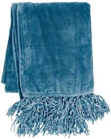 Tiseco Home Studio Plaid - Fluffy XXL - Blauw