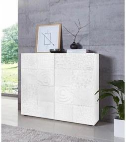 LC »Miro« highboard, breedte 121 cm met decoratieve zeefdruk