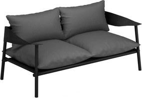 Emu Terramare 2-zits loungebank zwart