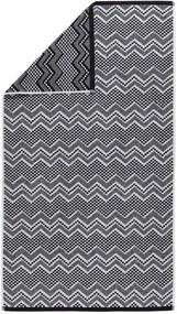 Sealskin Brilliance handdoek 110x60x0.4cm rechthoek 100% Katoen Zwart 16361356219