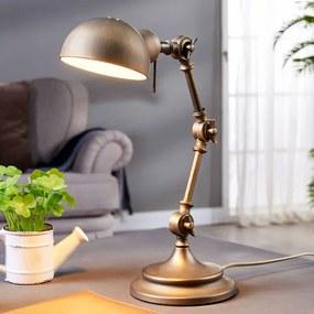 Ellisen - bureaulamp in het brons - lampen-24