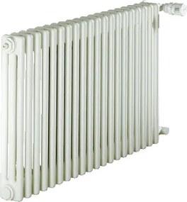 Charleston radiator (leden) staal wit (hxlxd) 50x1196x136mm