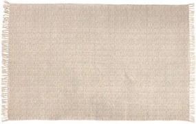 DROPS Tapijt wit, blauw B 140 x L 200 cm