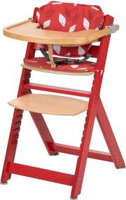 Timba with Cushion - Red Rasberry Wood/Red Campus - Kinderstoelen