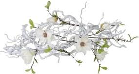 Guirlande Kronkel Magnolia White. Br± 70 cm