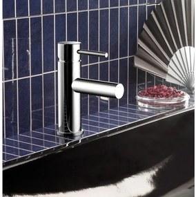 Hotbath Buddy wastafelmengkraan 003 S geborsteld nikkel B003GN