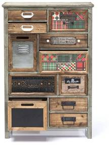 Kare Design California Ladenkast 11 Lades - 64.5x30.3x98cm.