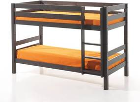 Vipack Pino - Stapelbed - 140 Kleur: Taupe