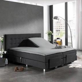 Home Care Splittopper Katoen - Home Care - Grijs 160 x 200 cm
