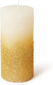 Decoris Kaars met structuur 15 cm