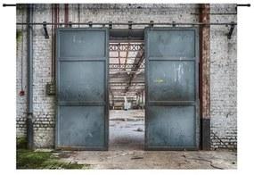 Urban Cotton Wandkleed Spinning Doors - 190x145 cm