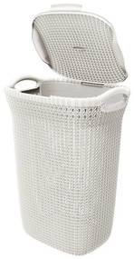 Curver knit wasmand - 57 liter - oasis white