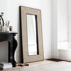 Must Living Raffles Grote Spiegel Met Rotan Webbing - 104x200cm