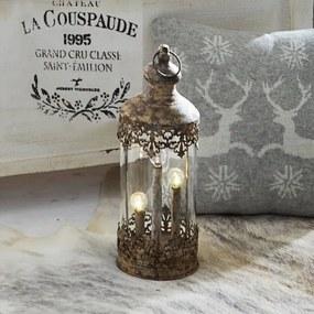 Lantaarn Cosette antiekbruin
