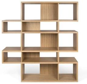 TemaHome London Design Boekenkast Eiken - Eiken - 156x34x160cm.
