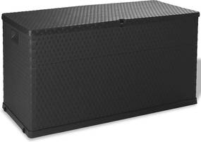Tuinbox 120x56x63 cm antraciet