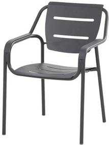 Eco stapelbare dining stoel - antraciet