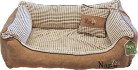 Nap'zzz divan met kussen 80x60 cm beige
