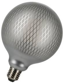 Bailey Designs Orient Grid Globe G125 E27 4W 2700K Zilver 320lm Dimbaar 230V-240V 360D 125x170 LED lamp 143108