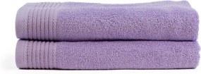 The One Towelling 2-PACK: Handdoek Basic - 70 x 140 cm - Lavendel