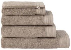 Handdoeken - Hotel Extra Zwaar Taupe (taupe)
