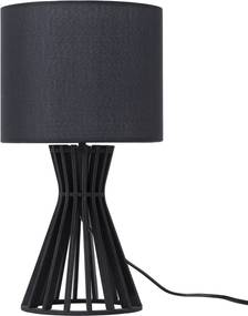 Tafellamp zwart CARRION